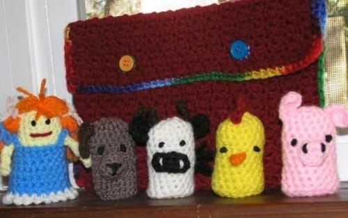 Farm finger puppets!