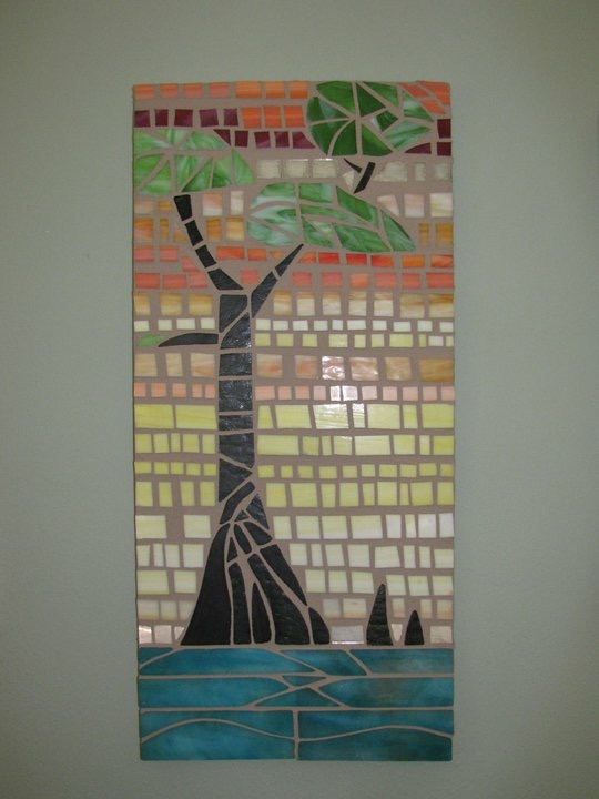 Cypress mosaic