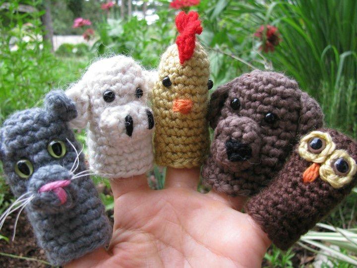 More finger puppets!